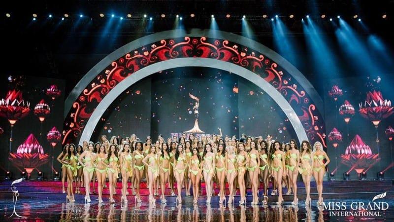 Team UK at the final of Miss Grand International in Vietnam!