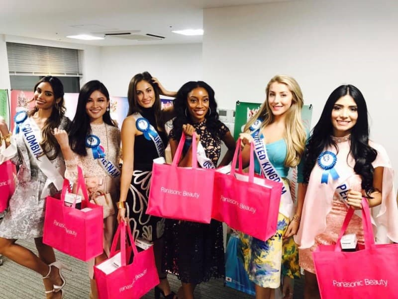 Miss International UK, Ashley Powell, has had an amazing first few days in Japan at the Miss International final!
