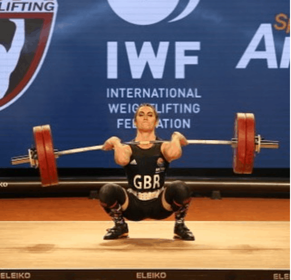 Beauty Queen Sarah secures best British result for 15 years in Weightlifting World Championships!