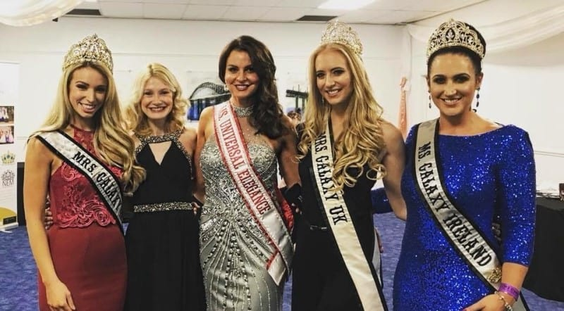 Mrs Galaxy UK, Tanya Collins, was a special guest at the grand final of Mrs & Ms Earth UK!