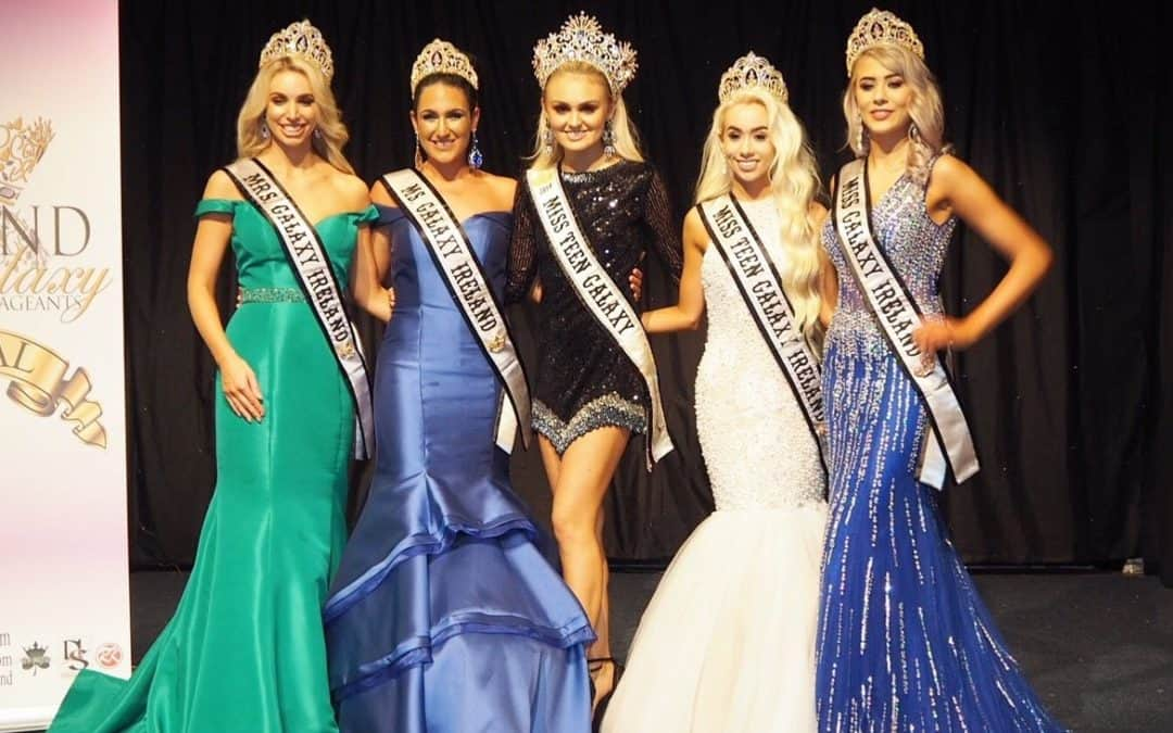 Miss Teen Galaxy, Misha Grimes, and Mrs Galaxy UK, Tanya Collins, were invited to judge the Ireland Galaxy Pageants!