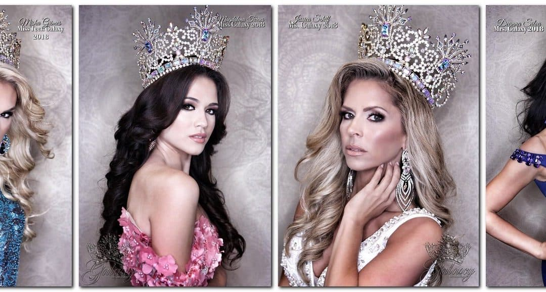New Prize Alert for the 2018 UK Galaxy Pageants – First Official Photoshoot with Van Der Meuwe!
