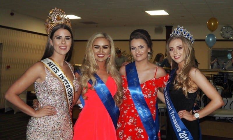 Miss Intercontinental Scotland, Natalie Graham, was a special guest at The Scottish Industry Pageant Awards!
