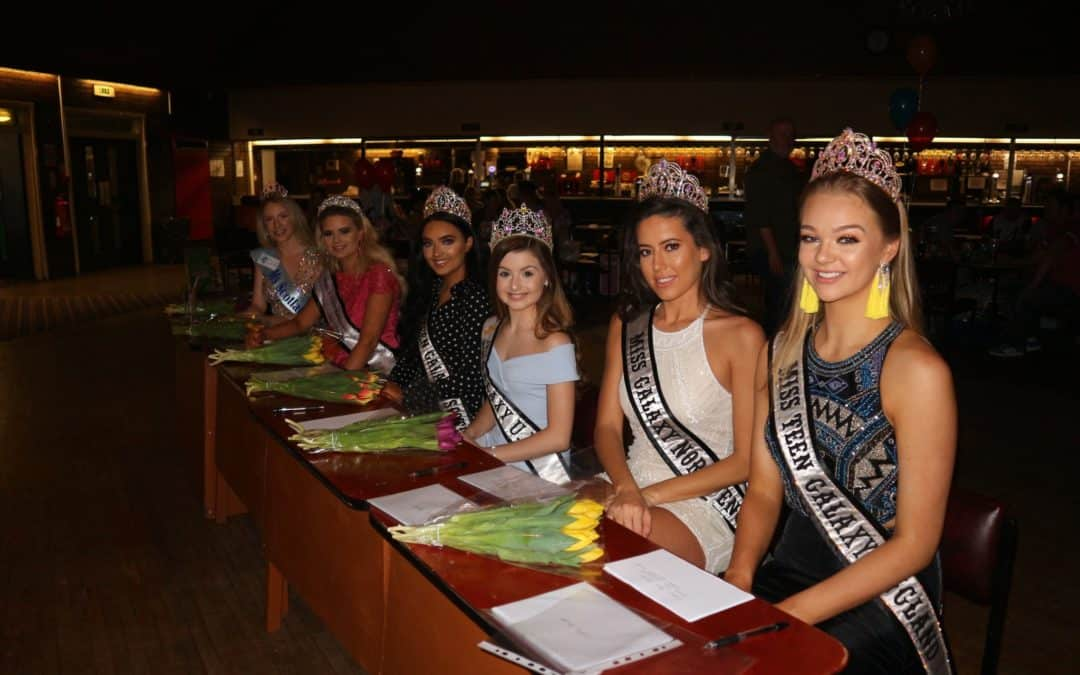 Some of our fabulous Galaxy queens were invited to judge a pageant!