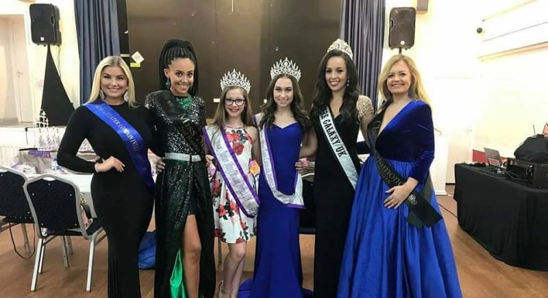 Mrs Galaxy UK, Ruth Wade, was invited to compere the Southern Sass pageant!