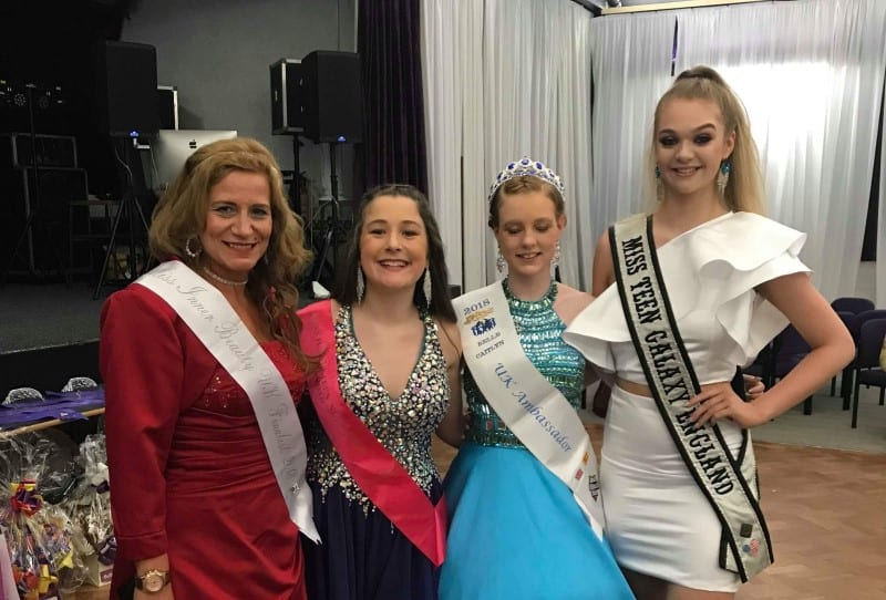 Miss Teen Galaxy England, Harriotte Lane, was invited to judge Miss Majestic Newcastle!