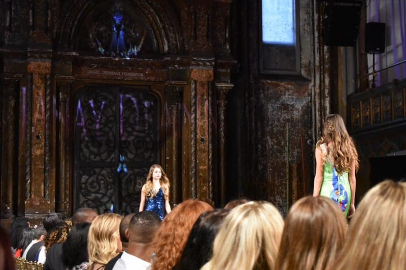 Junior Miss Galaxy, May Parry, was invited to walk in New York Fashion Week!