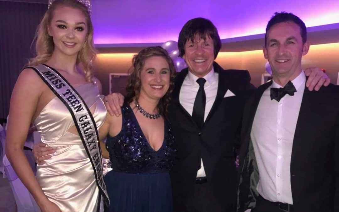 Miss Teen Galaxy England, Harriotte Lane, was a special guest at a charity ball!