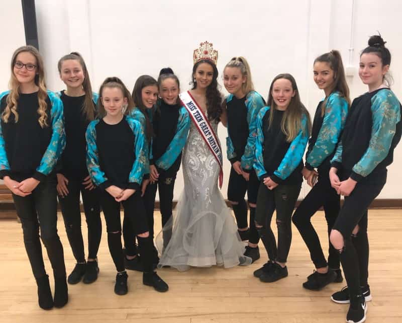 Miss Teen Great Britain, Imogen, Chapman, was a special guest at a charity fashion show!