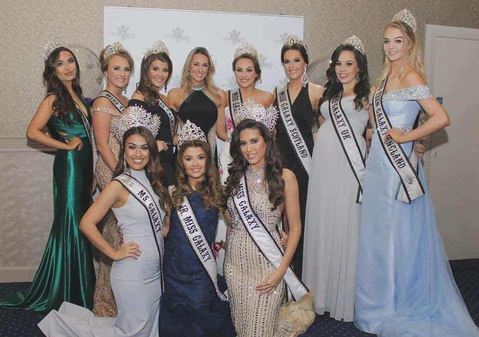 The Galaxy Queens Pageant Land Ball raised over £1,500 for The Christie!