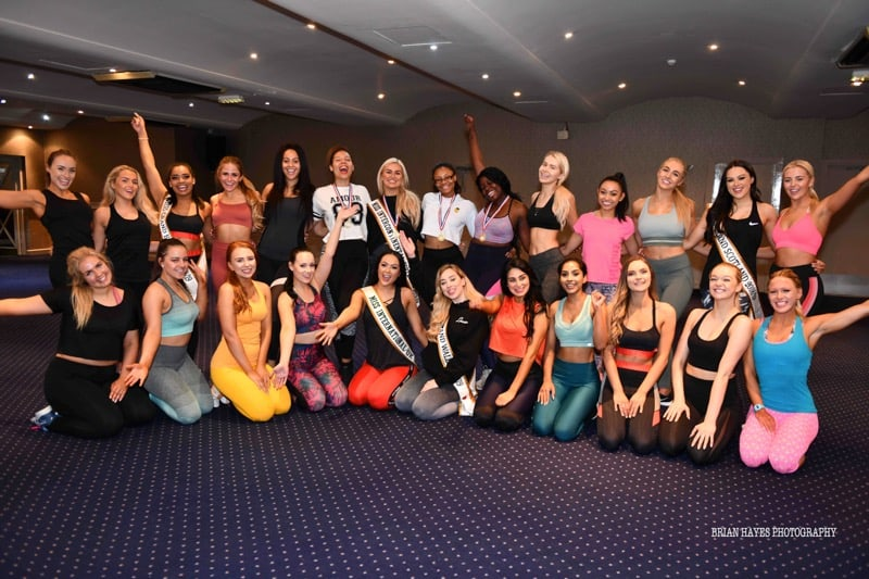 The Power Pageant finalists were put through their paces at the Beauty Queen Bootcamp!