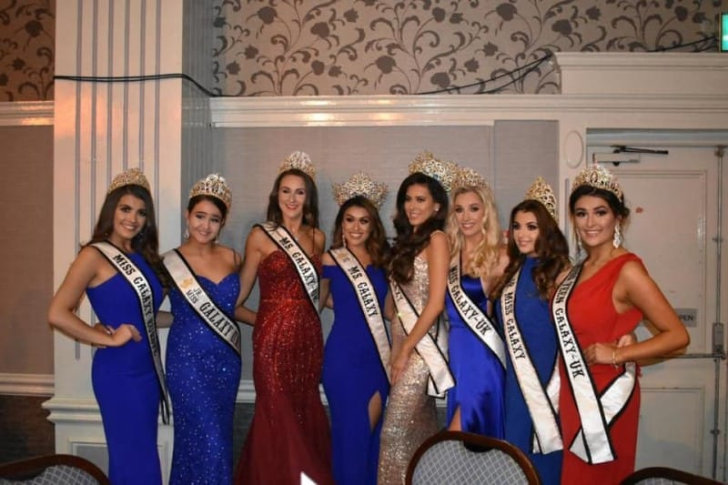 Our Galaxy and Miss Teen GB queens were special guests at the UK Power Pageant!
