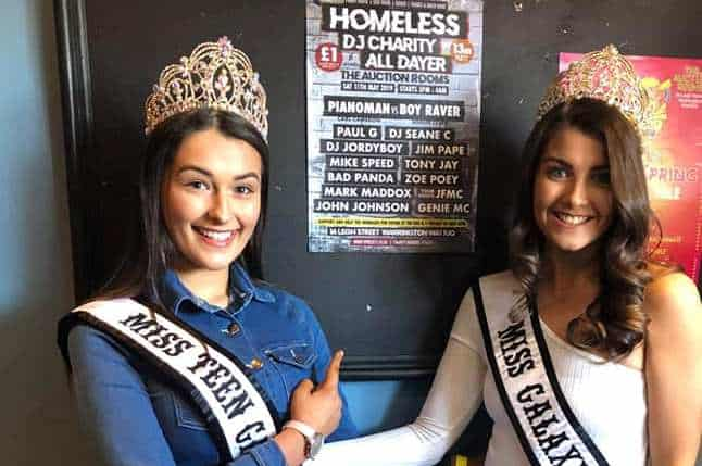 Miss Teen Galaxy – UK & Miss Galaxy Europe, Ruby & Kelsey, were special guests at The Y Project fundraiser!