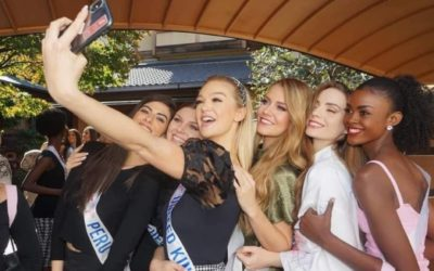 Harriotte Lane, Miss International UK, is having the most amazing time exploring Japan!
