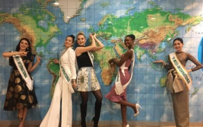 Miss International UK, Harriotte Lane, had an amazing time touring Japan with the Miss International top 5!