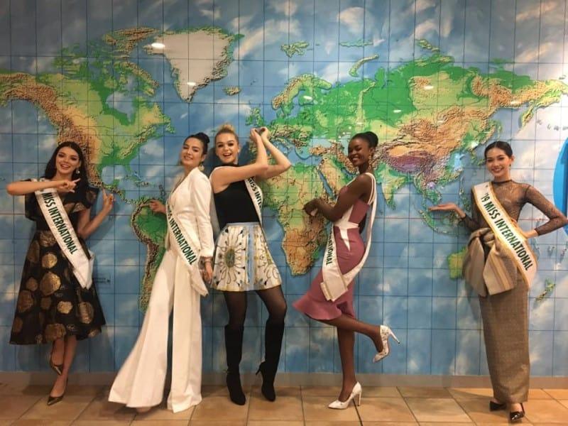 2019 Miss International Top 5 Tour of Japan