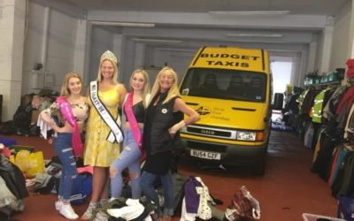 Mrs Galaxy UK, Kayleigh Atkinson, has been collecting donations for the North East Homeless Charity!