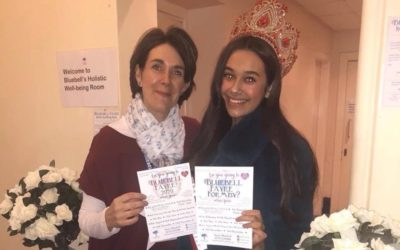 Miss Teen Great Britain, Nancy Hodgson, was a special guest at the Bluebell Fayre!