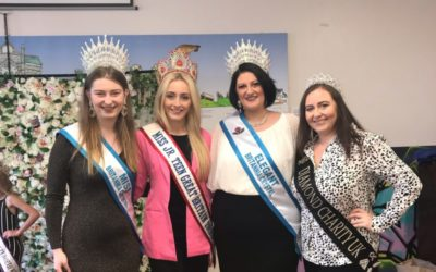 Miss Junior Teen Great Britain, Ellie Corcoran, was a special guest at a charity pageant!