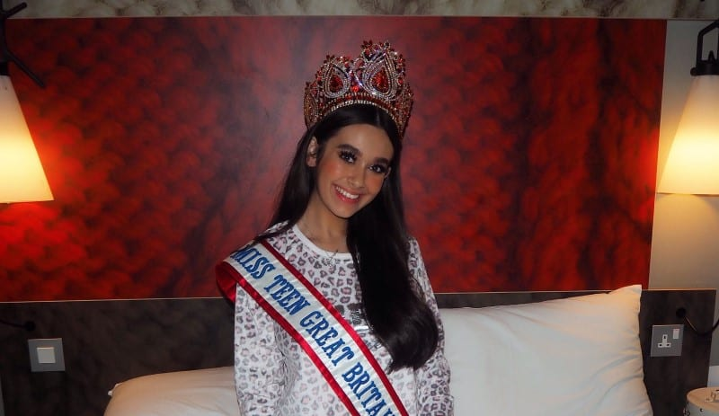 Happy New Year from Miss Teen Great Britain, Nancy Hodgson!