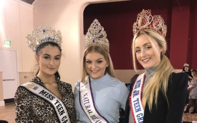 Miss Junior Teen Great Britain & Miss Teen Galaxy, were special guests at a charity pageant in aid of Giddo's Gift!