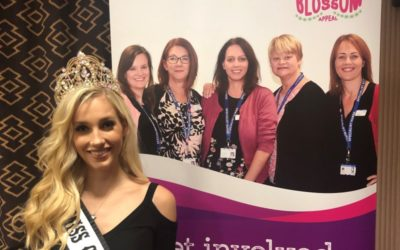 Miss Galaxy-UK, Emma Collingridge, was invited to model in a charity fashion show!