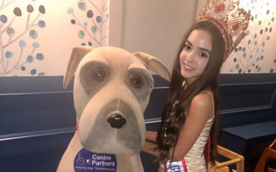 Little Miss Teen Great Britain, Yasmina Newbold, was a special guest at her sponsors New Year's Eve Party!