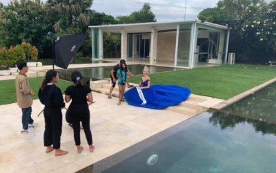Behind the scenes of Miss International UK's photoshoot in Bali!