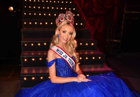 Get to know your Miss Junior Teen Great Britain, Ellie Corcoran!