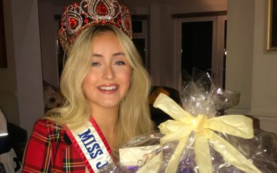 Miss Junior Teen Great Britain, Ellie Corcoran, raised £344 through her charity raffle!