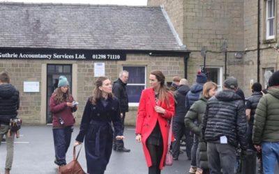 Ms Galaxy Europe, Rebecca Everson, landed a speaking role in ITV's Unforgotten!